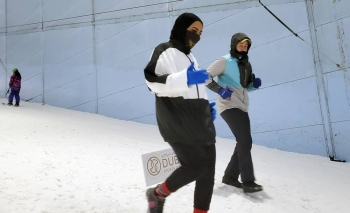 """The """"DXB Snow Run"""", organized by Dubai Sports Council (DSC) in cooperation with Ski Dubai, will take place on Aug. 14."""