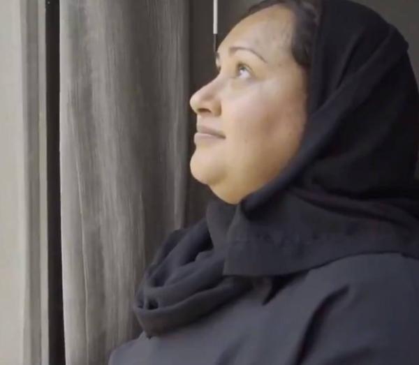 Azra Aly, a South African pilgrim