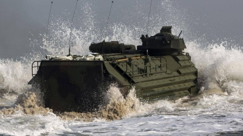 The service members were on an amphibious assault vehicle (AAV) that sank during the exercise. The AAV was carrying 15 Marines and one sailor when it was transferring the sailors from the shores of San Clemente Island near San Diego to a Navy ship when it began to sink. — Courtesy photo