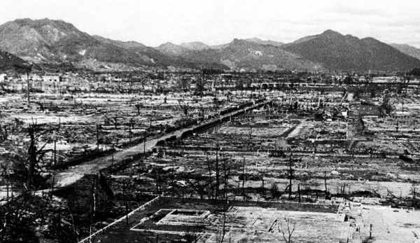 There was widespread destruction in Hiroshima as a result of the nuclear bomb which was dropped on the Japanese city in August 1945. — courtesy UN Photo/Eluchi Matsumoto