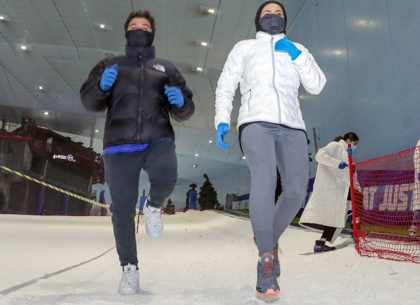 The DXB Snow Run has received an overwhelming response from members of UAE's enthusiastic sports-loving community.