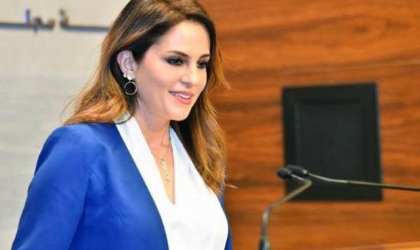 Lebanon's Information Minister Manal Abdel Samad announced her resignation.