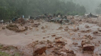 Several houses were buried under debris after a landslide and heavy rains hit Idukki in the south Indian state of Kerala. — Courtesy photo