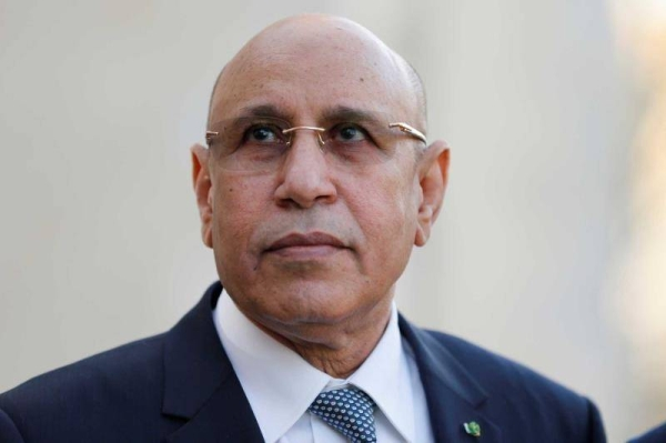 Mauritania President Mohamed Ould Cheikh El Ghazouani