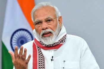 India's Prime Minister Narendra Modi on Tuesday unveiled a