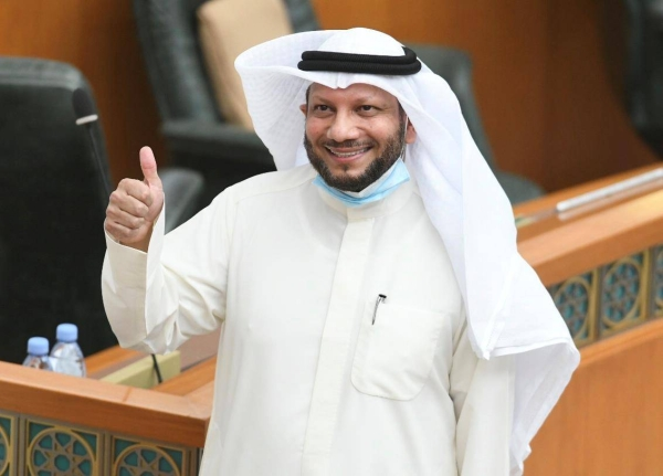 Finance Minster Barrak Al-Shaitan