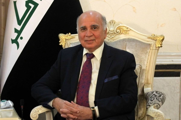 Iraqi Foreign Minister Fouad Hussain