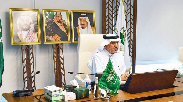 Dr. Abdullah Al Rabeeah, advisor at the Royal Court and Supervisor General of King Salman Humanitarian Aid and Relief Center.