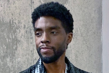 Actor Chadwick Boseman, who brought the movie