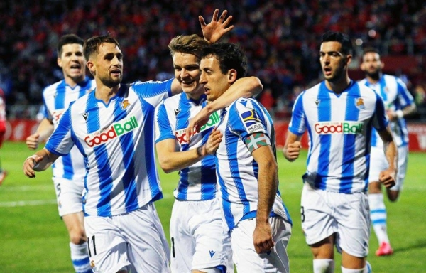 Real Sociedad reach Copa Del Rey Final.
