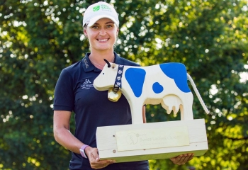 Golf Saudi Ambassador Amy Boulden Wins Swiss Ladies Open.