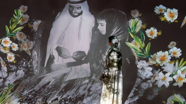Acclaimed Emirati artist and designer Ashwaq Abdulla inaugurated Sunday the first of its kind digital art exhibition 'Al Mabrouka' across the region.