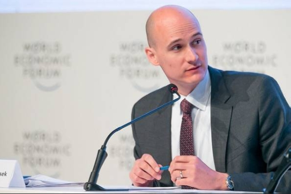 File photo of Mirek Dusek, member of the executive committee at the World Economic Forum. — courtesy WEF