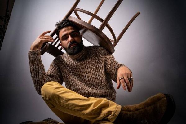 Jordanian hip hop artist Emsallam