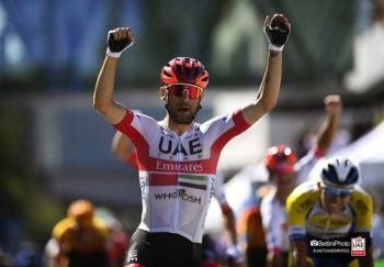 Diego Ulissi put in a confident performance to take his first win of the season on stage 1 of the Skoda-Tour of Luxembourg (2.Pro).