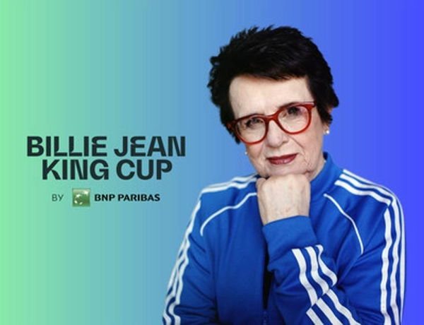 The ITF has announced that Fed Cup, the women's world cup of tennis, has been renamed the Billie Jean King Cup by BNP Paribas.