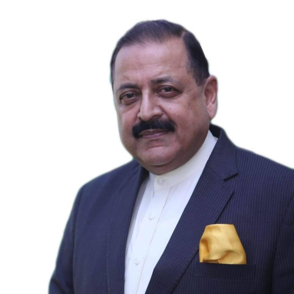 Dr. Jitendra Singh, the minister of state in the Department of Space
