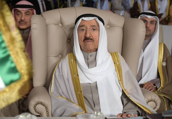 Kuwait's Emir Sheikh Sabah Al Ahmed Al Jaber Al Sabah is seen in this file picture. — Courtesy photo