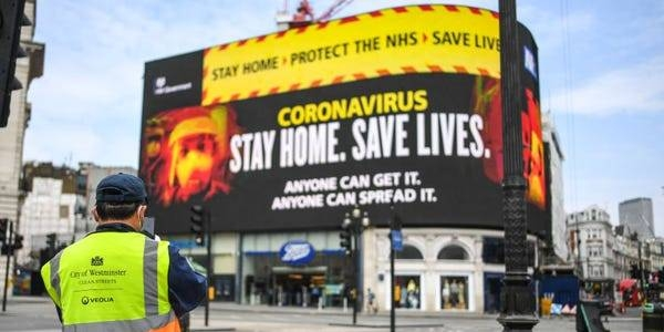 UK at 'tipping point' of COVID-19 outbreak: Minister