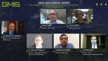 Leading PwC experts speak at the Global Manufacturing and Industrialisation Summit's #GMIS2020 Digital Series