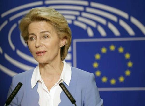 Commission President Ursula von der Leyen.