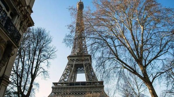 File photo of iconic Eiffel Tower.
