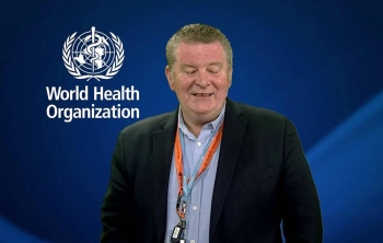 Dr. Mike Ryan, director of the WHO's health emergencies program.