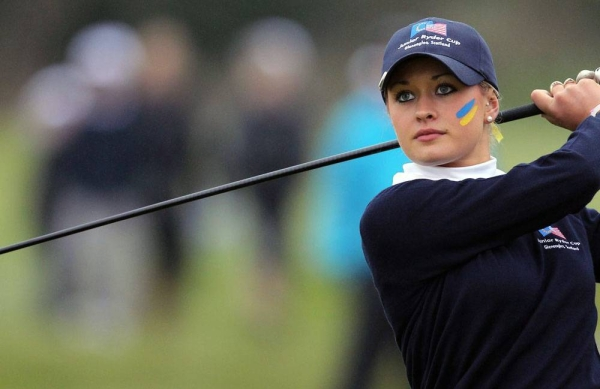 Wales' Amy Boulden will be taking part in both of November's events, fresh from her maiden LET win at this month's Swiss Open.