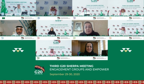 RIYADH — The Third G20 Sherpa meeting was held virtually on Sept. 29-30, 2020, under the Saudi G20 Presidency, with participation from all G20 members, invited countries, and international organizations.