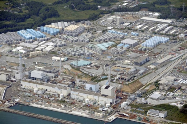 The Japanese government plans to release into the sea treated radioactive water from the Fukushima Daiichi nuclear power plant crippled by a powerful earthquake and tsunami in 2011.