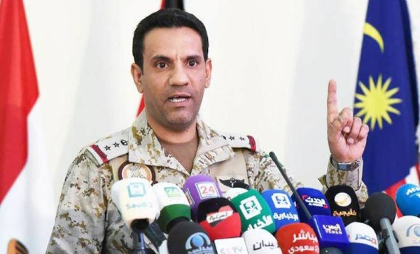 Coalition: Houthi-launched missile from Sanaa falls in Sadah