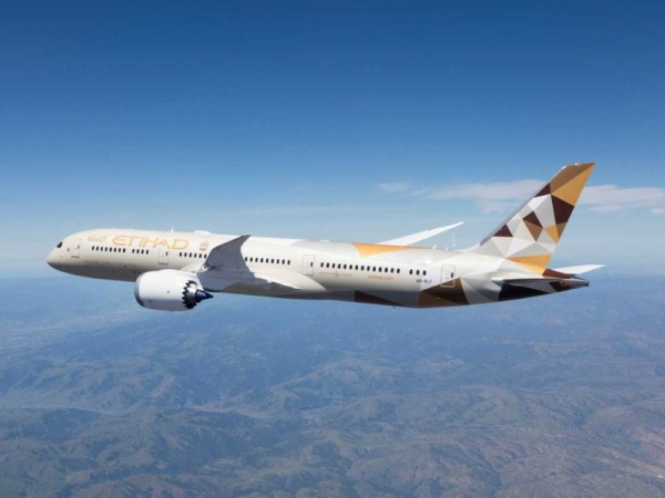 The UAE national airline, Etihad Airways, has become the first GCC carrier to operate a commercial passenger flight to and from Israel, to bring Israel's top travel and tourism leaders to the UAE. — WAM photo