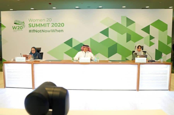 King Salman made the remarks in a speech read out on his behalf by Saudi Acting Minister of Media Majid Al-Qasabi at the end of the W20, the G20 women's engagement group, on Wednesday.