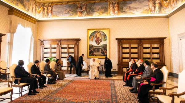 ZAHF judging committee meets Pope Francis following the first open launch for submissions in its second edition on Monday (Oct. 19).