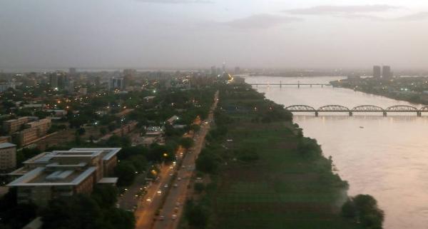 Aerial view of the capital of Sudan, Khartoum. 2018. — courtesy WFP/Abeer Etefa