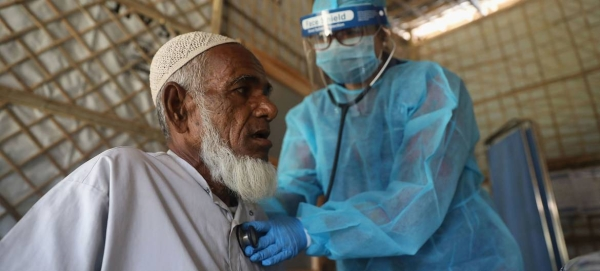The UN's International Organization for Migration (IOM) is supporting medical care for Rohingya refugees in Bangladesh. — courtesy IOM/Abdullah Al Mashrif
