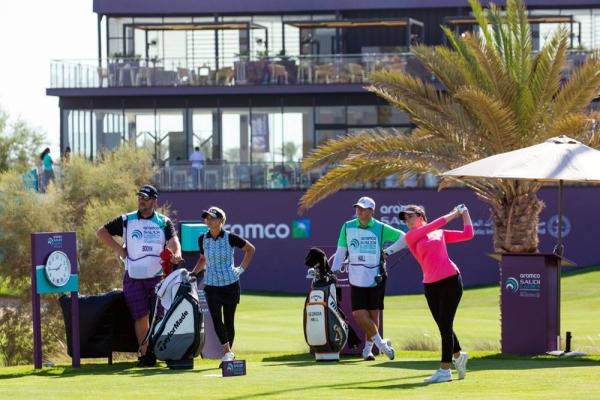 The tournament starts Tuesday and follows the Saudi Ladies International.