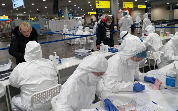 Russia reported a record high of 456 deaths related to the novel coronavirus on Wednesday, bringing the official death toll to 34,387.