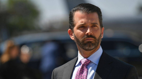 Donald Trump Jr., US President Donald Trump's eldest son, has tested positive for coronavirus. — Courtesy photo