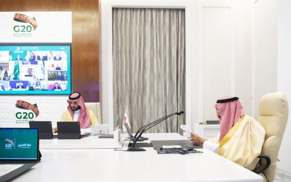 Custodian of the Two Holy Mosques King Salman and the leaders of the Group of Twenty (G20) concluded here Sunday 15th Virtual G20 Leaders' Summit.