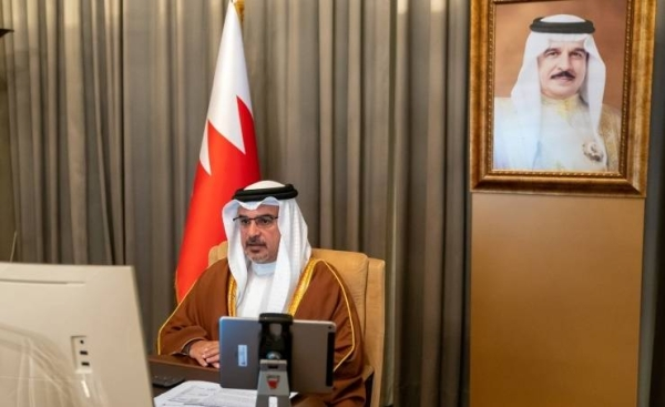 In a virtual session chaired by Bahrain's Crown Prince Salman bin Hamad Al Khalifa, who is also the country's prime minister, the Bahraini Cabinet lauded Saudi Arabia's key role in facilitating multilateral dialogue and cooperation during a unique and challenging year.— BNA photos