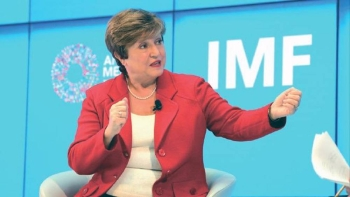 IMF Managing Director Kristalina Georgieva congratulated the Kingdom of Saudi Arabia for its successful presidency of the G20 while facing a year of unparalleled challenges.