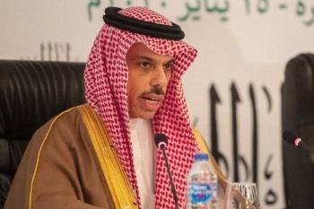 File photo of Saudi Foreign Minister Prince Faisal Bin Farhan.