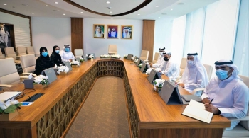 Dubai Sports Council (DSC) received a delegation of high-ranking officials of the UAE National Anti-Doping Committee (NADC) Monday.