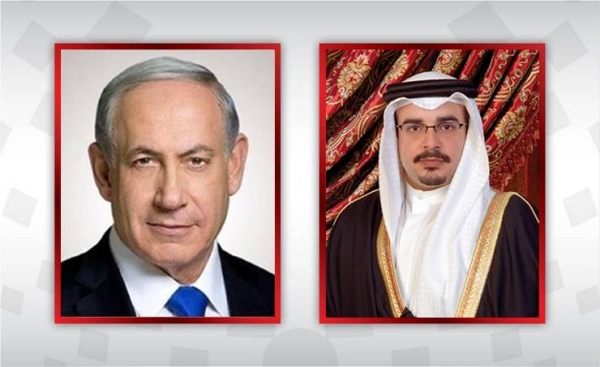 Bahrain's Crown Prince Salman bin Hamad Al Khalifa, who is also the country's prime minister, held telephone talks on Monday with Israeli Prime Minister Benjamin Netanyahu.