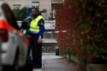 Two people were injured in a stabbing at a department store in Lugano which is being investigated as a possible terror incident.