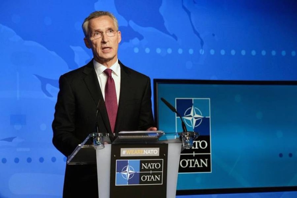 NATO Secretary General Jens Stoltenberg seen in this file photo.