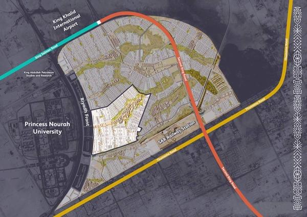 ROSHN, Saudi Arabia's national community developer powered by the Public Investment Fund (PIF), Urban Design Master Plan.
