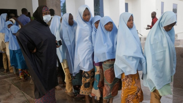 At least one person has been shot dead and two others injured as hundreds ofkidnapped Nigerian schoolgirlswho had been released were reunited with their parents, eyewitnesses said. — Courtesy photo
