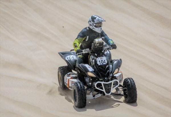 Yasir Seaidan won the 2021 Sharqiyah International Baja Toyota.